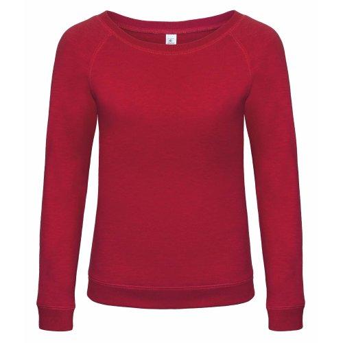 B&C Denim Starlight - Sweatshirt à large encolure - Femme Noir