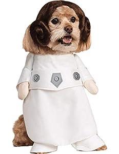 Rubies Officielle pour Animal Domestique Chien Costume, Princesse Leia, Star Wars–Petit