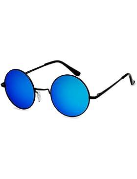 CASPAR SG038 Gafas de Sol Redondas / Gafas Estilo Retro Vintage John Lennon