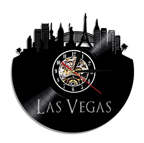 Las Vegas City Led Beleuchtung Nevada State Wandleuchte Moderne Led Hintergrundbeleuchtung Usa Geschenk Für Touristen Keine Led Licht 12 Zoll