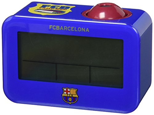 Seva Import Barcelona Despertador, Unisex Adulto, Azul/grana, Talla Única