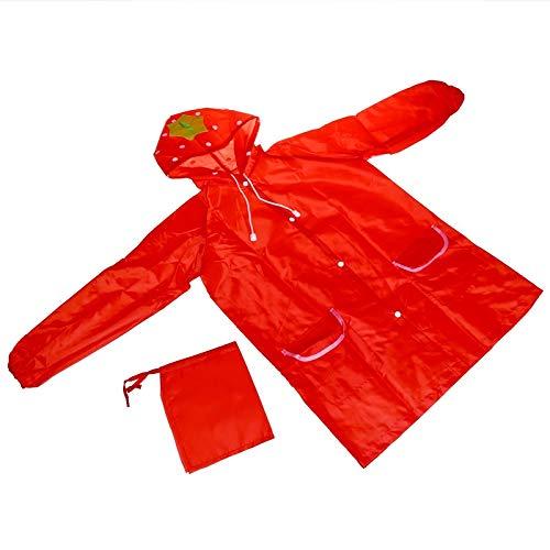 YUELANG Oxford Raincoat For Children Baby Waterproof Rain Poncho Boy Girls Rain Coat Student Rain Gear Cute Rain Suit