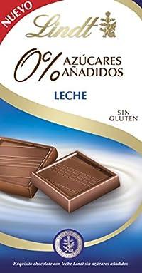 Lindt Leche 0% Azucares Anadidos Chocolate Bar 100g