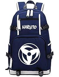 Mochila de Anime de Naruto Mochila Escolar para Estudiantes Mochila de Ocio