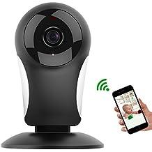 Baby Monitor, M. Way Wireless interior cámara digital, WiFi inalámbrica mobile Control Remoto Cámara, Mini cámara IP, HD 720p Vigilabebés, WiFi, Vivienda para Home Security/Baby/Mascotas