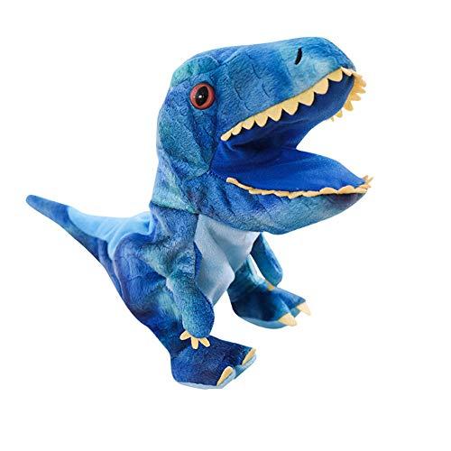 Dinosaurio juguete felpa dinosaurio marionetas mano