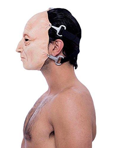 Original Saw Tobin Bell Maske Lizenzware hautfarben