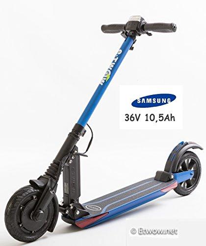 E-Twow Booster V Samsung 10,5Ah Patinete,Azul, Talla Única