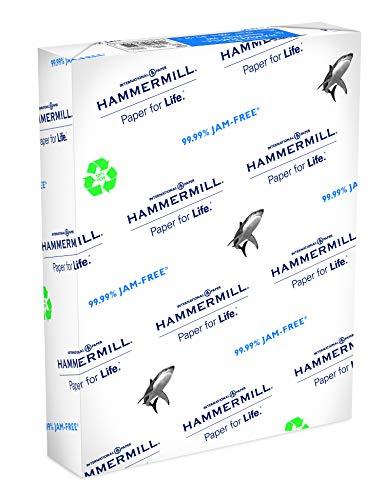 Hammermühle (Technik) Papier, Great White 100% recyceltem Copy Papier, 9,1kg, 8,5x 11 Brief 500 Sheets weiß (Hammermill-copy Papier)