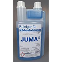Juma® Limpiador de espuma de leche 1000ml–Limpiador para máquinas de café, Café automáticas, leche schäum dispositivos, dispensador de nata, Soft Máquinas de hielo