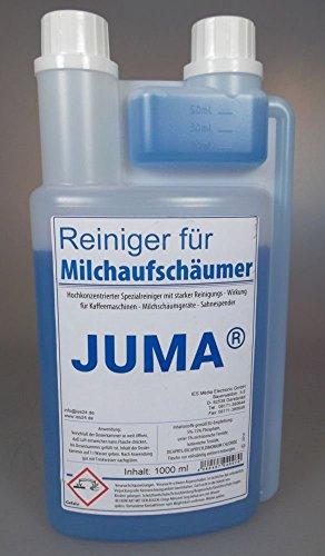 Juma® Nettoyant pour mousse de lait 1000 ML - Nettoyant pour Machines à Café, Lait äum, les machines à Chantilly en Soft Glace