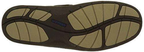 Sebago Clovehitch Il, Scarpe da Barca Uomo Marrone (Dk Brown Leather)