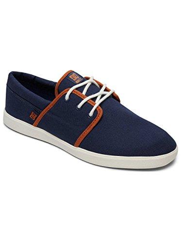 Dc Chaussures Dc Herren Schuhe Haven, Scarpe De Skateboard Uomo Bleu - Navy / Dk Chocolat