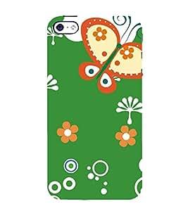 PrintVisa Designer Back Case Cover for Apple iPhone 5S (Nature Flowers rose jasmine sunflower)