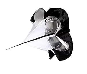 New Strength training body umbrella running explosive force track and field strength speed umbrella resistance umbrella,black