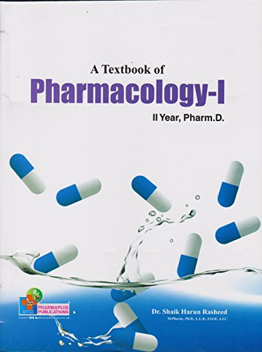 A Textbook of Pharmacology-1 second Year Pharm.D. 2017-18