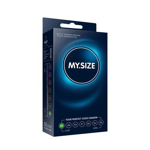 My.Size Kondome, 47 mm, 10 Stück