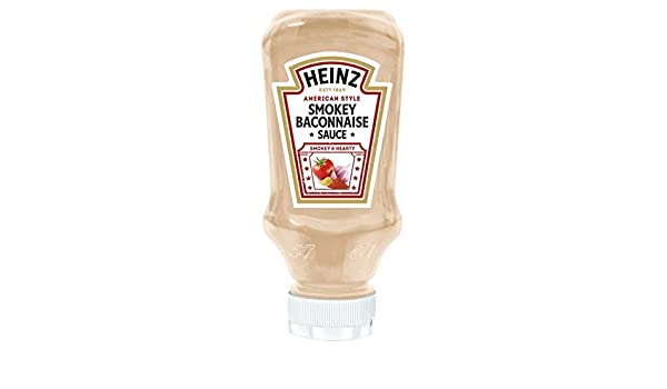 Heinz Smokey Baconnaise 232 G Amazoncouk Grocery