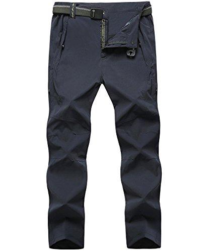 donhobo Men's Casual Climbing Pants Outdoor Lightweight Quick Dry Hiking Combat Trousers