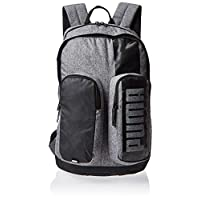 Puma Deck Backpack Ii Medium Gray Heathe Grey Bag For Unisex, Size One Size