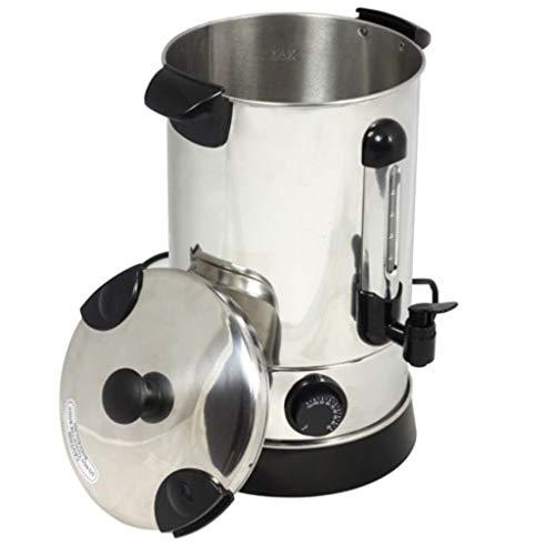 Festnight 6.8 L Glühweinkocher Weinwärmer 6,8 Liter Glühweinkessel Einkochautomat 2000 W Temperaturregler 30° bis 100° Celsius