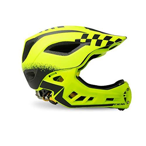 AMZ BCS Kind Outdoor Sport Sicherheit Hut mit Rücklicht Kinder Fahrrad Reithelme Kinder Schutzhelm Skating Fahrrad Glide Lightweight Cap,S - Glide Cap