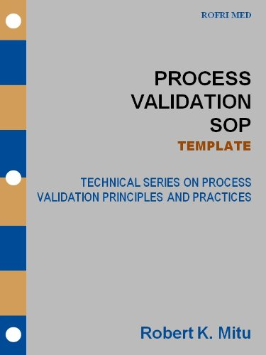 Sop Template | Process Validation Sop Template Technical Series On Process