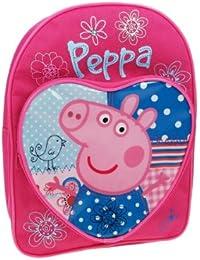 Peppa Pig Corazón Patchwork Mochila