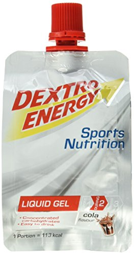 Dextro Energy Sports Nutrition Liquid Gel Cola Flavour, 18er Pack (18 x 60 ml)