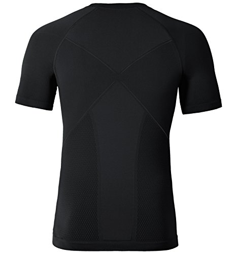Odlo Evolution Shirt Kurzärmelig Black - Odlo Graphite Grey