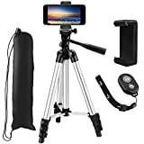 "Best Tripod Mount For Galaxy Note 3s - Tripod, PEMOTech 40"" Inch Aluminum Camera Tripod + Review"