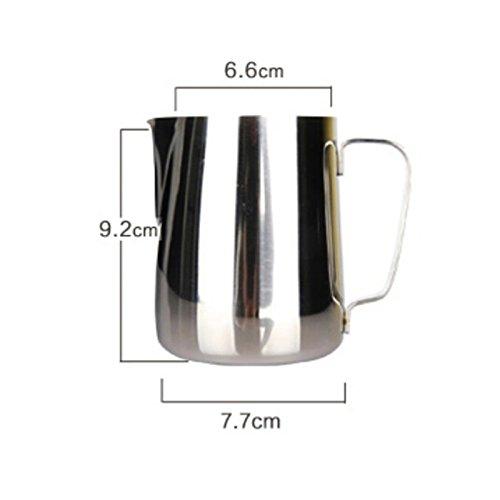 amazing-Handels (TM) Edelstahl Espresso Coffee Latte Aufschäum-Milchkännchen 350ml