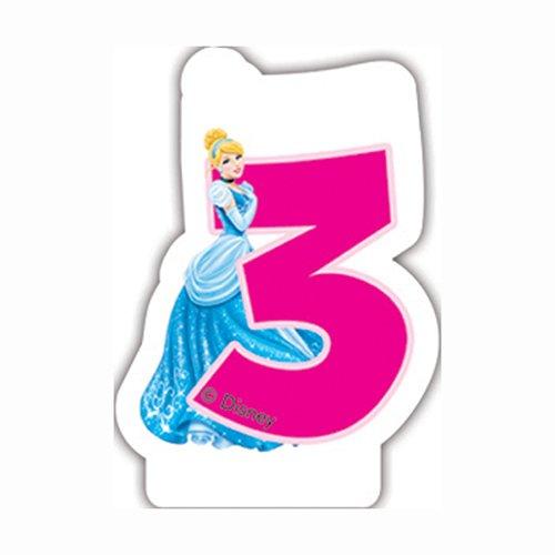 Disney Princess and Animals Cupcake-Förmchen und Kuchendekoration, 24 Stück