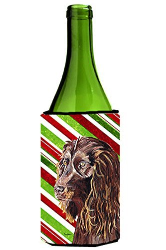 boykin-spaniel-candy-cane-de-noel-michelob-slim-ultra-koozies-pour-canettes-750-ml-multicolor