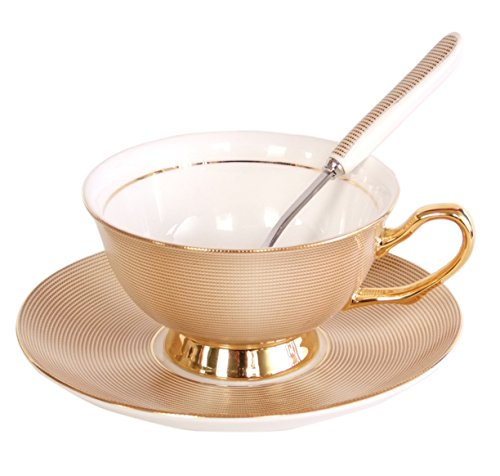 touch-life-bone-china-ceramic-tea-cup-coffee-cup-with-sauser-and-spoongolden