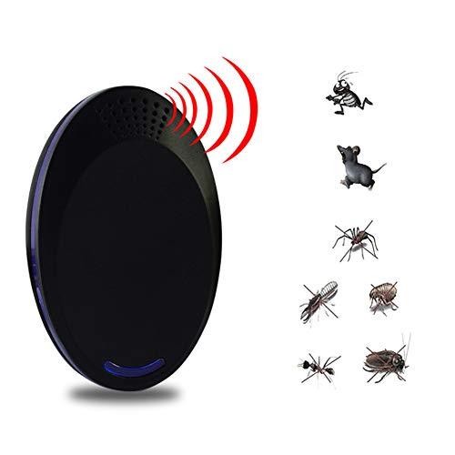 WYX Elektronische Ultraschall-Pest-Repeller Plug In-PEST Control Elektronenschutz Indoor Use, NO Chemicals-100% Pet Safe-Home, Küche, Hotel, Restaurant, Büro, Ware-House,Black - In Hotels Wi