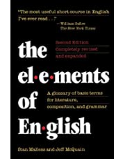 The Elements of English: A Glossary of Basic Terms for Literature, Composition, and Grammar