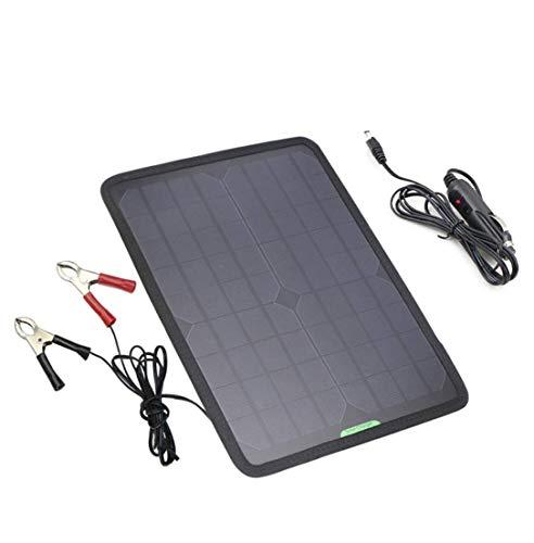 Por qué elegirnos ?Nuestro cargador de batería solar para autos de 18 V es la solución perfecta para cargar baterías de automóviles, motocicletas, automóviles, motos de nieve, tractores y más con energía solar cuando la batería se encuentra en un est...