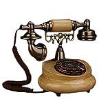 Retro Telefon FJH Elektronische Einzigen Glocke Harz Metall Wählscheibe Mode Kreative Europäischen Pastoralen Sitz Home Office 18 cm * 21 cm * 25 cm