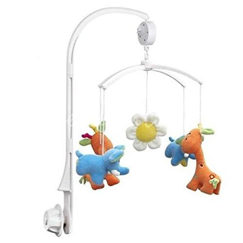 Universal-Halterung für Betthimmel, für Babybett, Mobiles Bett, Glockenhalter und Spieluhr zum Aufziehen, passend für alle gängigen Wiegen