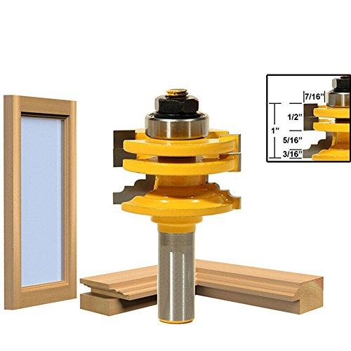 AKUTA High–Grade Holz Cutter Tür Messer Glas Türen und Fenster Holz-Tranchiermesser Holz Schrank Tür Einsteckschloss Messer