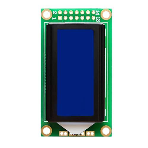 GUTES PRODUKT 2019 1,7 '' LCD-Bildschirm 0802B 8 x 2 Blue Character Module für Arduino LDTR-WG0239 (2 Zeile Lcd)