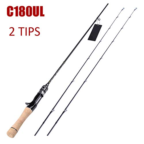 Love every day Flexible Spinning Rod 1.58M1.8M 0.8 5G Lure Weight Ultralight Spinning Rods Ultra Light Casting Spinning Fishing Rod,R-C1802Tips -