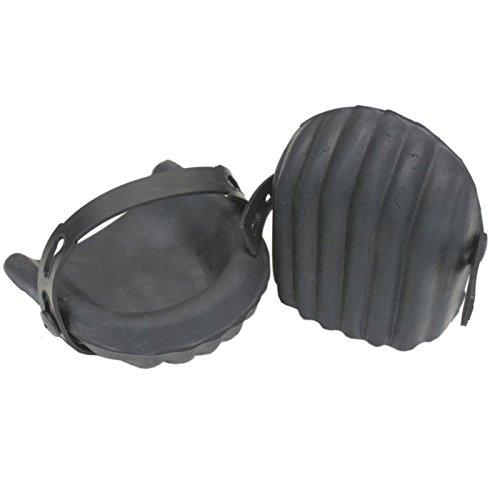 1 Paar Weichschaum Knieschoner Gummi in Schalenform Knieschützer