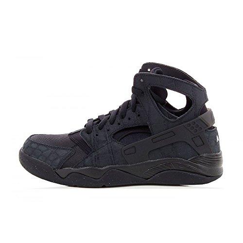 Nike Air Flight Huarache, Scarpe da Basket Uomo, Negro (Black/Black-Black), 47 1/2 EU