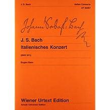 Italienisches Konzert: Klavierübung II/1. Nach Erstdrucken und Abschriften. BWV 971. Klavier. (Wiener Urtext Edition)