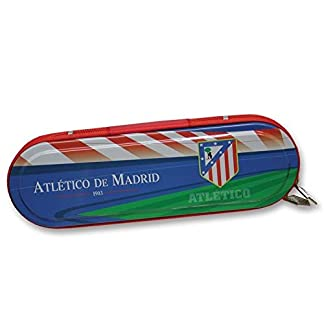 Atletico De Madrid – Plumier metal con cremallera – atletico de madrid (96/6)