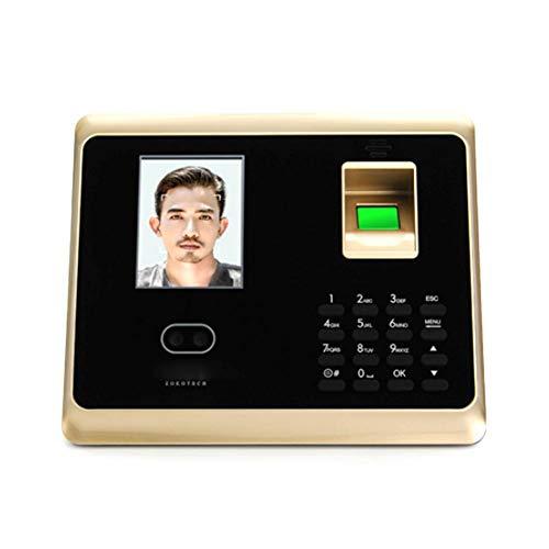 iBâste Gesicht Access Control System Set Erkennung Teilnahme Maschine Fingerprint Fingerabdruck Teilnahme Management Maschine Passwort Fingerabdruck-Recorder 2.8 Zoll LCD-Bildschirm