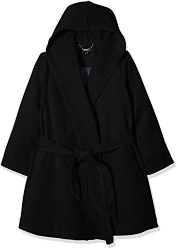 Mexx Damen Women Coat Mäntel, Schwarz (Black 001), Medium (Size:38-M)