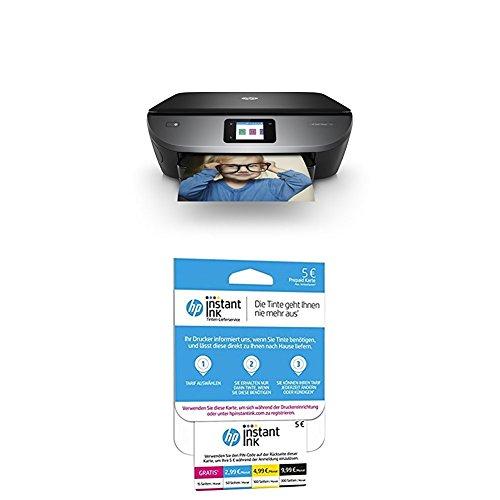 HP Envy Photo 7130 + HP Instant Ink Karte (Tarif für 15, 50, 100 oder 300 Seiten pro Monat)